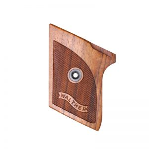 WALTHER TPH WOOD GRIPS (CHECKERED WITH LOGO)