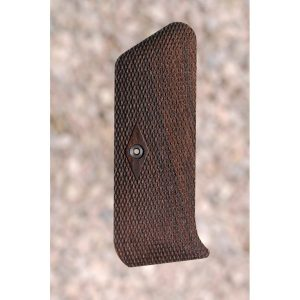 Colt Pre-Woodsman Wood Grips (Checkered)