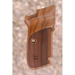 Cz 82-83 Replacement Wood Grips (Checkered)