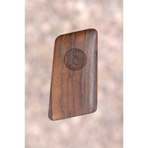 Ortgies .25 Wood Grips (Smooth With Logo)