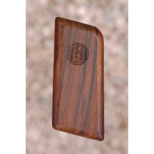 Ortgies .32 Wood Grips (Smooth With Logo)