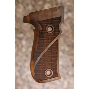 Sig P226 Wood Grips (Fully Checkered)