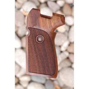 Sig P239 Wood Grips (Checkered)