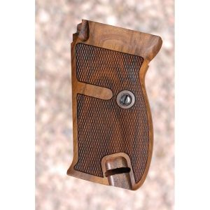 Walther P38-P1 Wood Grips (Checkered)