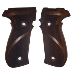 Sig Sauer P226 Wood Grips (Checkered and Textured)